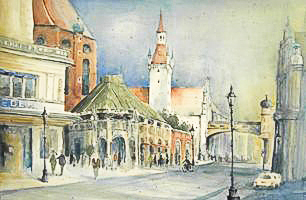 am Viktualienmarkt München