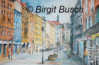 an der Sendlinger Strasse in München